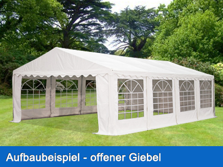 xxl partyzelt 3x6 6x12m pavillon festzelt 500g m pvc. Black Bedroom Furniture Sets. Home Design Ideas