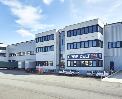 Profizelt24 Logistikzentrum