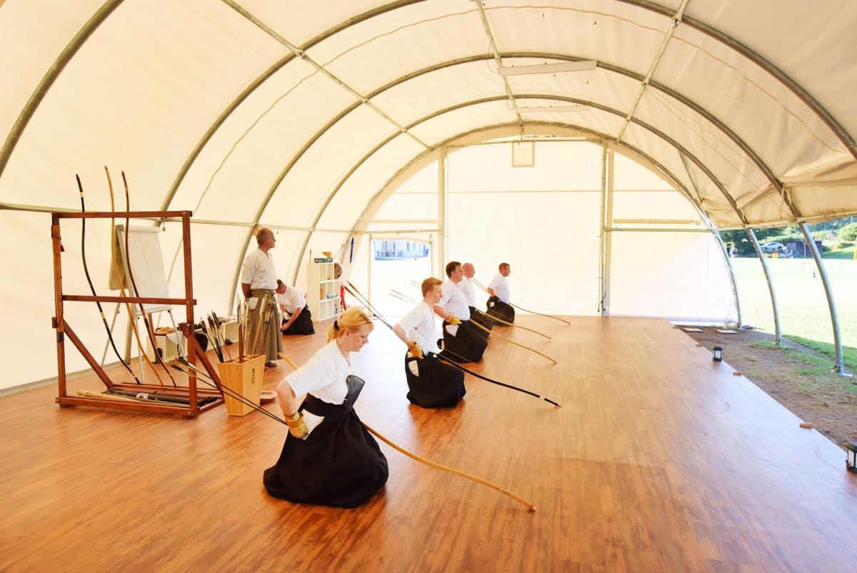 Dojo - Übungshalle für japanische Kampfkunst