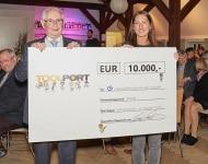 10.000 Euro für einen guten Zweck